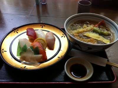 寿司&そば定食