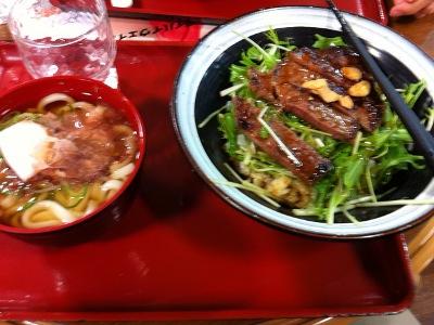 多賀SAステーキ丼