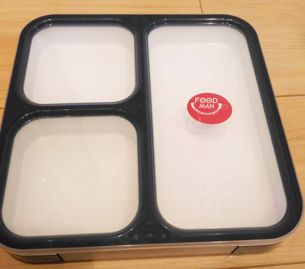 シービージャパン 弁当箱 薄型 フードマン 800ml